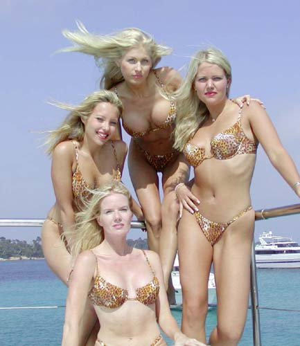 Bikini swedish women