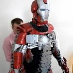 Iron Man Vs. LEGO Man