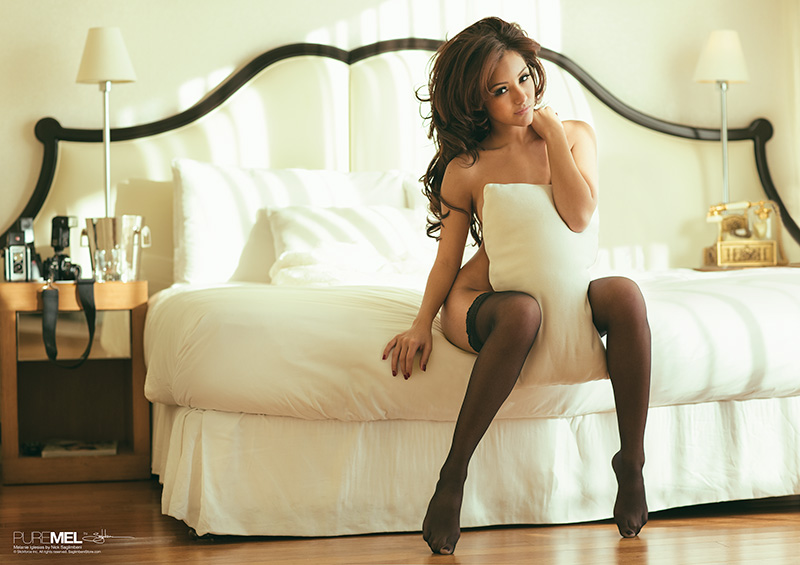Melanie Iglesias nude - stockings