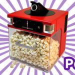 The Popinator: High Tech Popcorn Eating