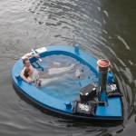 The HotTug Jacuzzi Boat