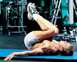 6 exercises for homemade six pack abs  urbasm