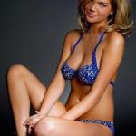 Kate Upton bikini body paint