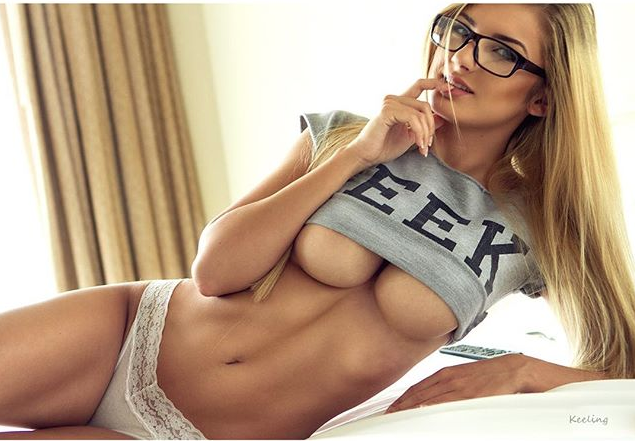 hot girls with glasses