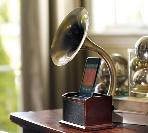 iPod-gramophone-docking-station