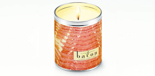 bacon-candle