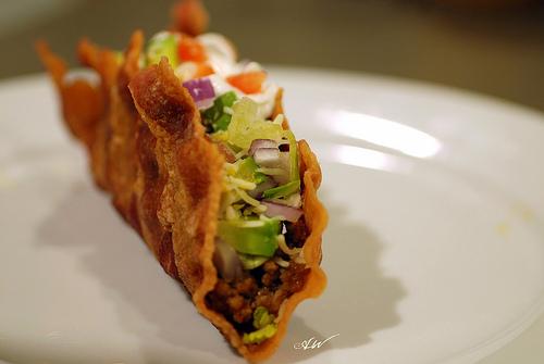 bacon-taco
