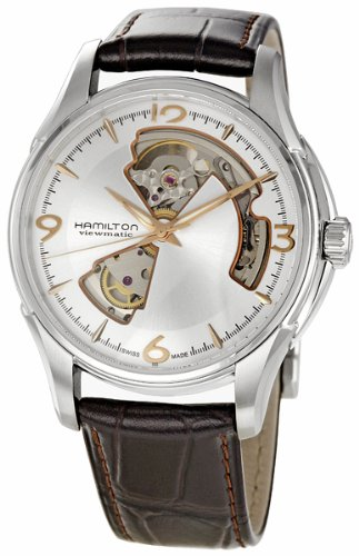 Hamilton Mens Jazzmaster Open Heart Watch