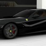 Ferrari F12 Berlinetta - black