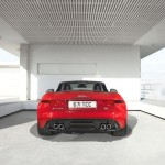 Jaguar F-Type - rear view