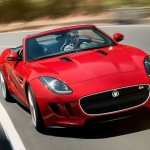Jaguar F-Type - red