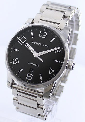 MONTBLANC-TIMEWALKER-AUTOMATIC-STAINLESS-STEEL-WATCH-9672