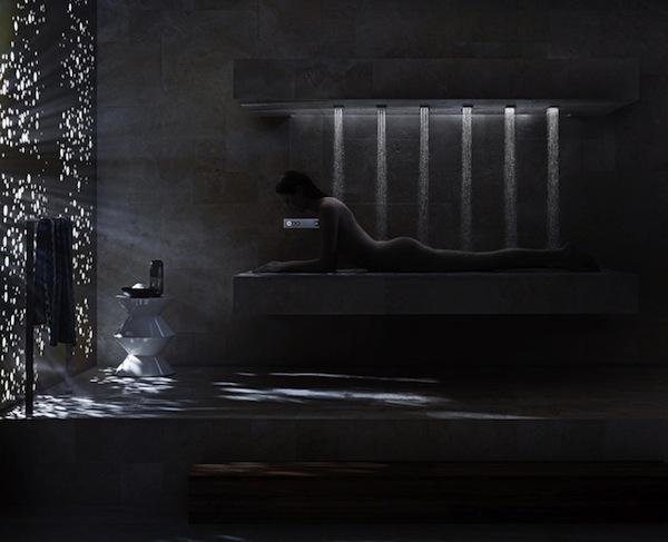Amazing showers to envy urbasm - Dornbracht horizontal shower ...