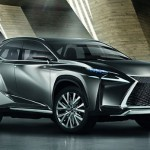 Lexus LF-NX Concept Looks Sharp