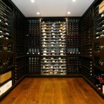 contemporary design wine cellar