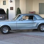 Amber Heard's 1968 Ford Mustang