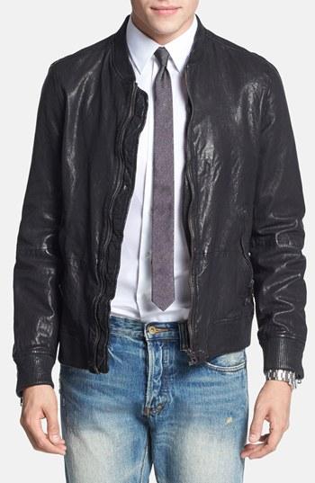 DIESEL-'L-Ajuga'-Leather-Bomber-Jacket