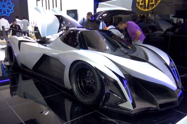 5000 Horsepower Supercar Hits the Dubai Motor Show... - Urbasm