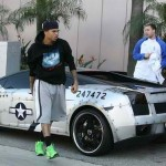 Chris Brown's P-51D Lamborghini Gallardo