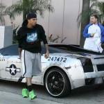 Chris Brown's P-51D Lamborghini Gallardo