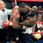 Mike Tyson Returns Evander Holyfield's Ear to Sell Shoes