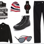 Black, Red and White All Over- All Things Stylish in 2014