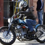 Brad Pitt's Custom Hardtail Chopper