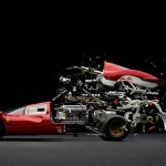 Exploding Classic Sports Cars