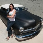 "Alexis DeJoria's Custom-built 1949 Mercury ""Lead Sled"""