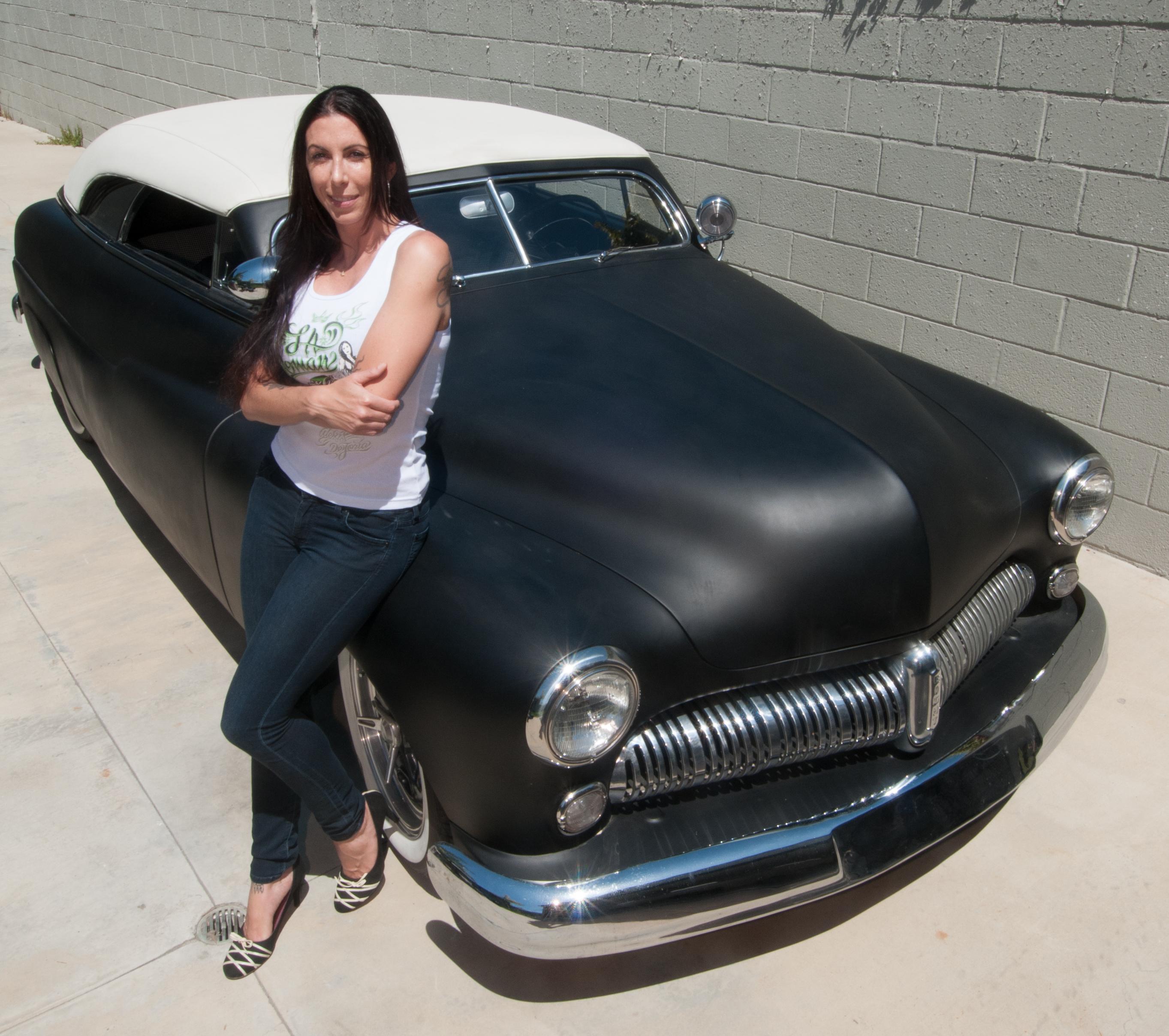 Alexis Dejoria S Custom Built 1949 Mercury Lead Sled