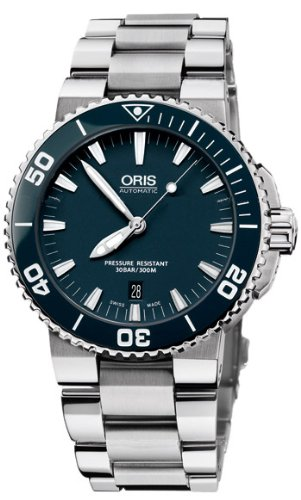 Oris Aquis Blue Dial Mens Watch