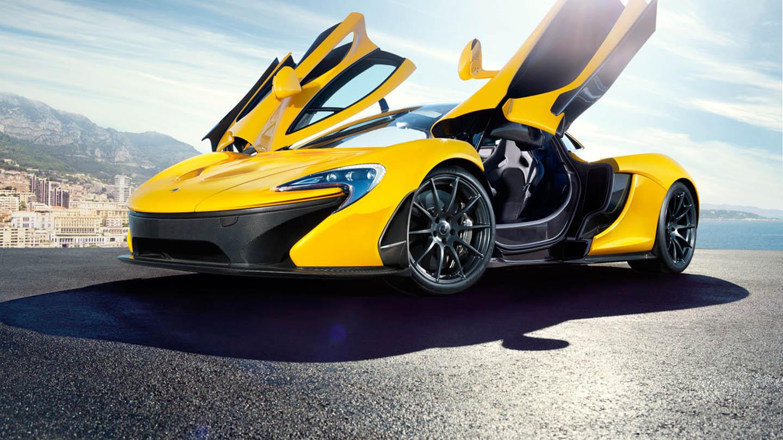 McLaren P1 doors