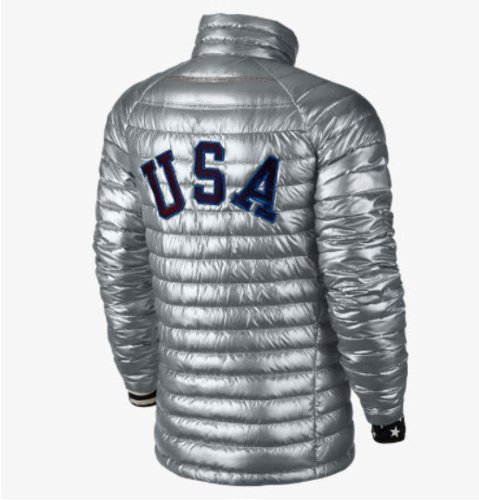 USA Team Olympic (XXII) Official Nike 800 Jacket back