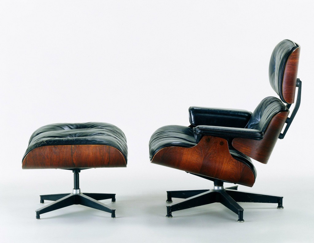 Charles and Ray Eames Rosewood Lounge Chair