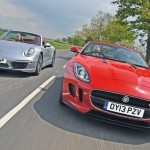 Jaguar F-Type Vs. Porsche 911