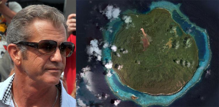 Mel-Gibson-Island