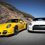 Nissan GT-R Black Edition Vs Porsche 911 Turbo S