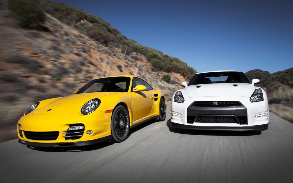 Nissan GT-R Black Edition vs Porsche 911 Turbo S