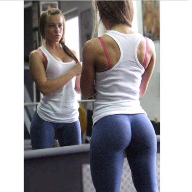 yoga pants babe
