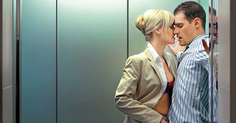 sex in elevator