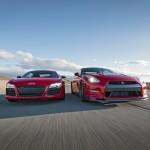 2014 Nissan GT-R Track Pack Vs 2014 Audi R8 V-10 Plus!