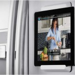 iPad Fridge Mount