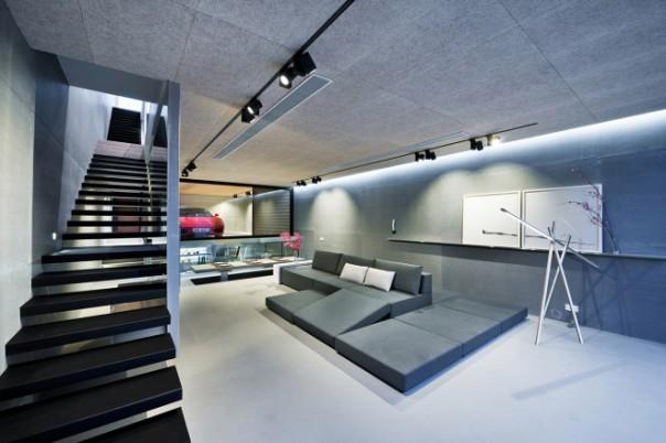 Ferrari Garaged in a Living Room 4