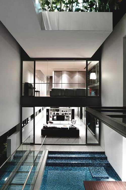 Dudepad indoor pool