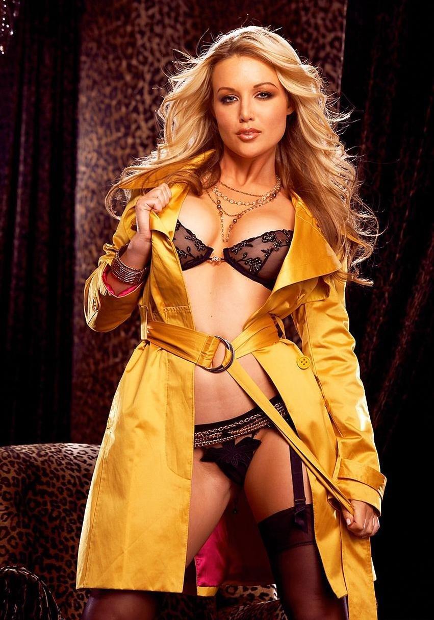 Kayden Kross - sexy coat