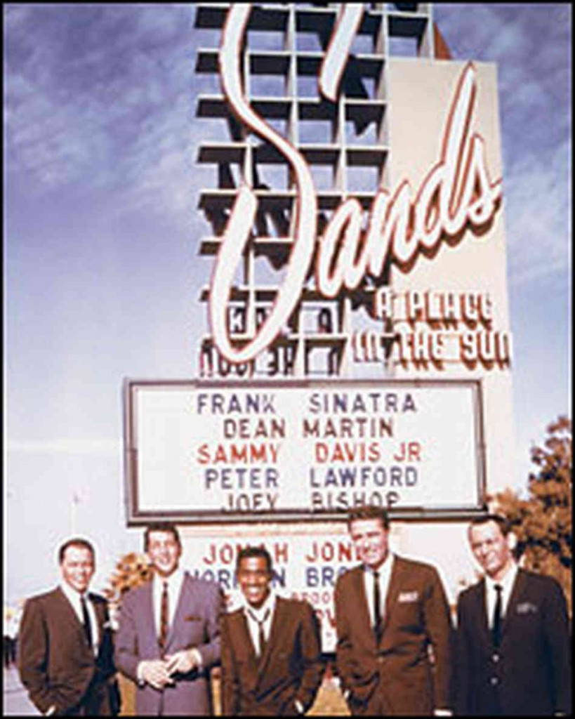 Sinatra Rat Pack Sands