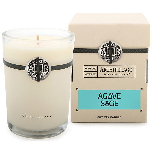 archipelago agave sage candle