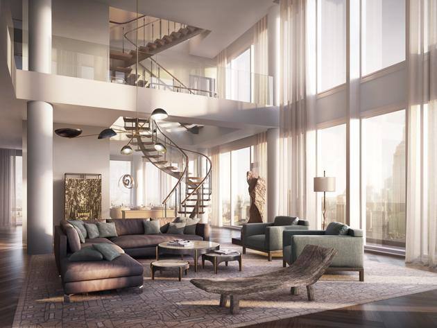 murdoch-double-height-living-room