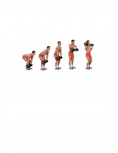 Dumbbell Clean 1-5
