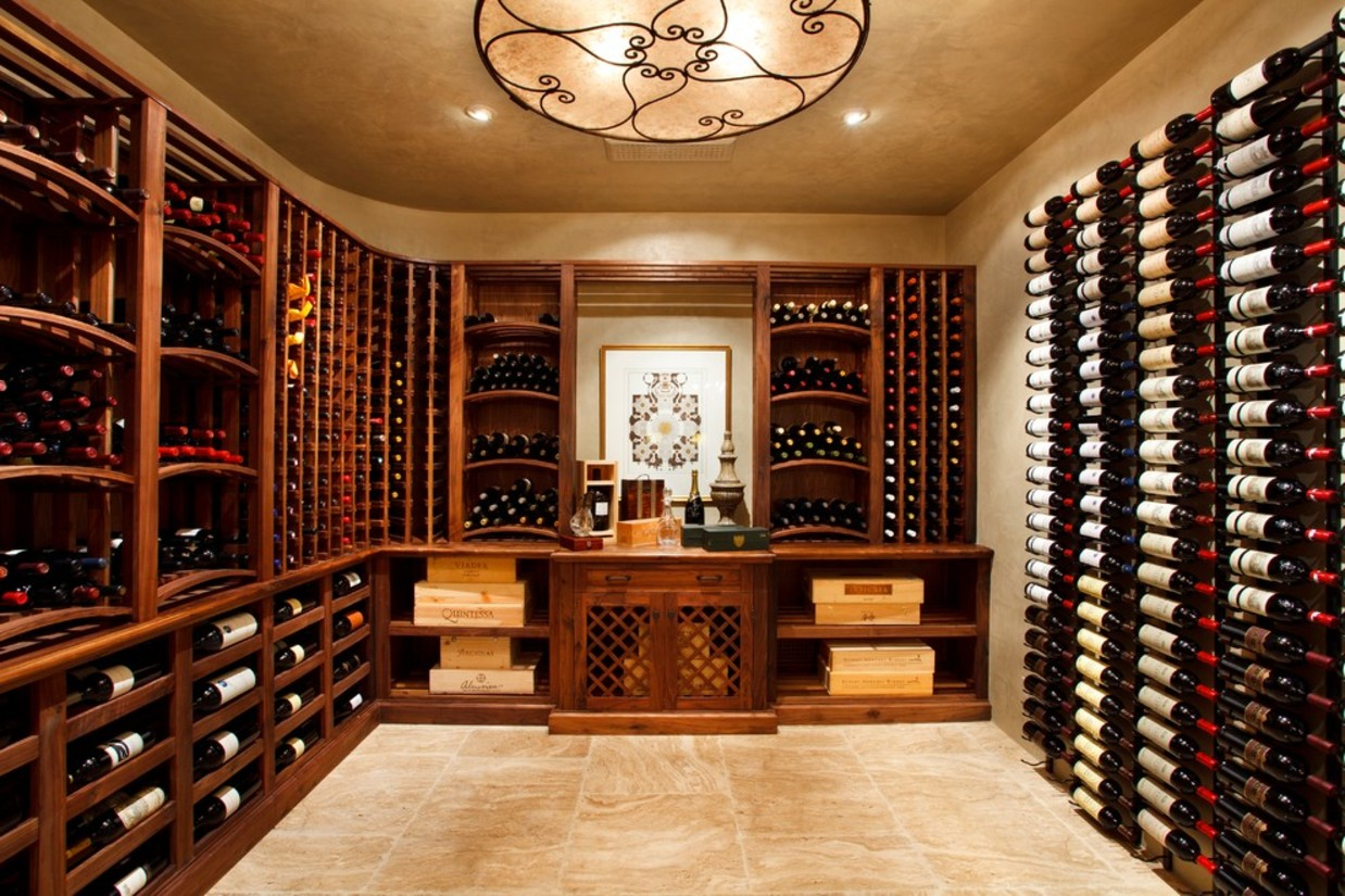 Urban wine cellar in a box urbasm for Wine cellar layout